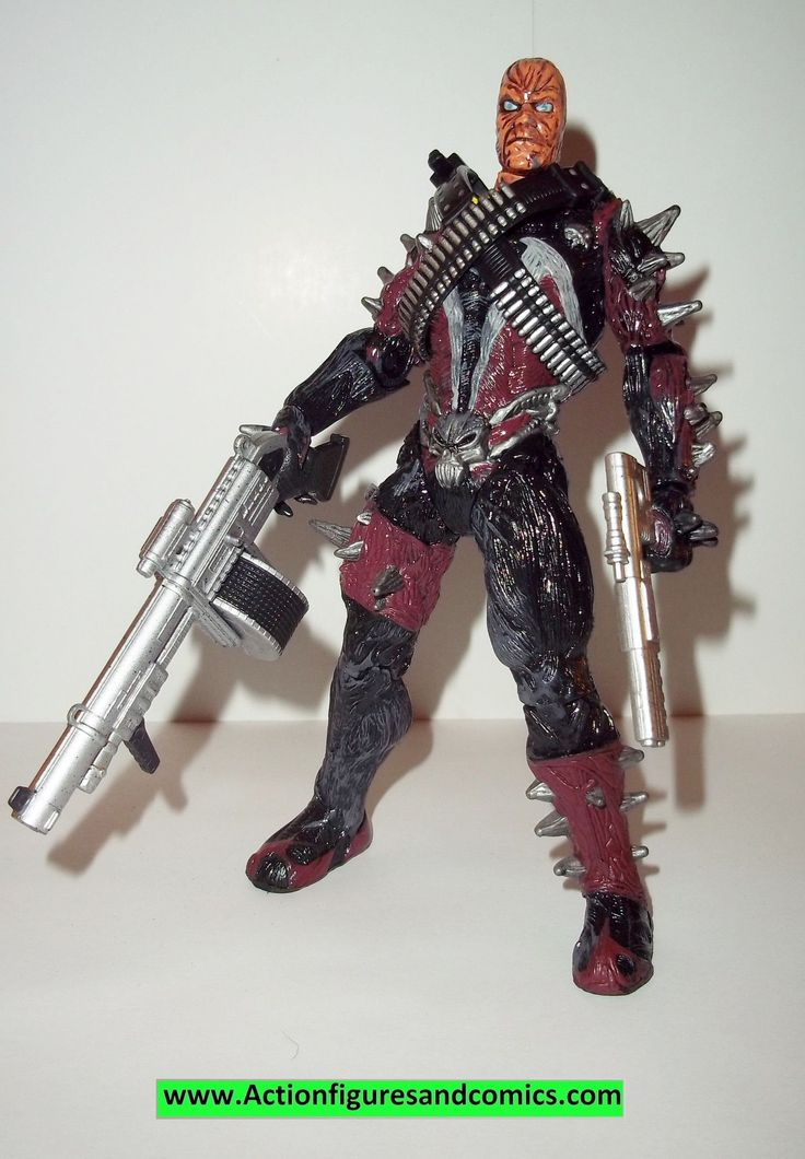 Spawn UNMASKED SPAWN 1997 movie complete todd mcfarlane toys action figures
