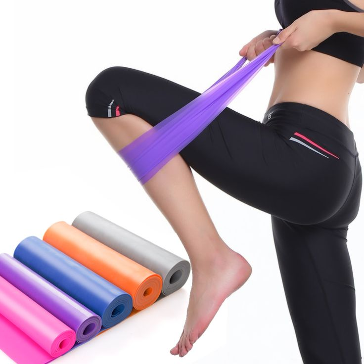 <Click Image to Buy> JAYSON 1.5m Yoga Sports FitnessResistance Bands Women Man Rubber Latex Elastic Expander Workout Pull Rope Crossfit Bodybuilding ***  #Fitness