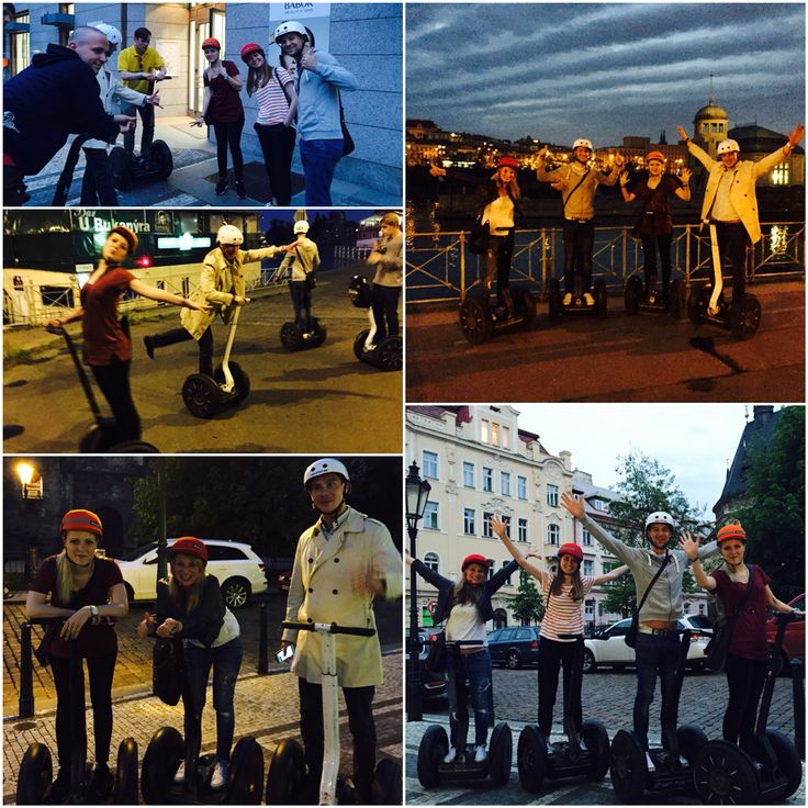 ICONic team out...let's call it team building! #teambuilding #iconhotelprague #segway