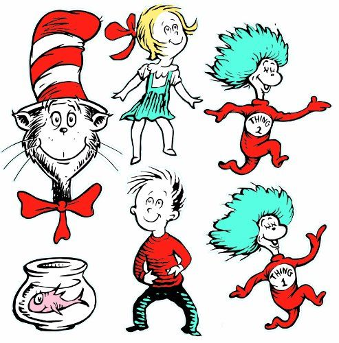 Eureka Large Dr Seuss Characters Deco Kit 840226 * You can get more details by clicking on the image.Note:It is affiliate link to Amazon.
