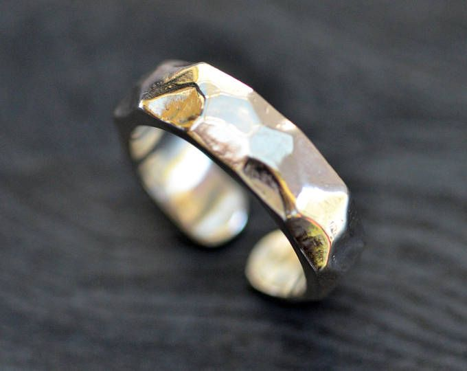 Sterling Silver Wave Ring by Luminous Design Store on Etsy  Wave Ring, Silver Wave Ring, Wave Rings, Valentines Day Gift, Easy Clean Jewelry, Statement Ring, Wave Rings for Women, Silver Ripple Ring