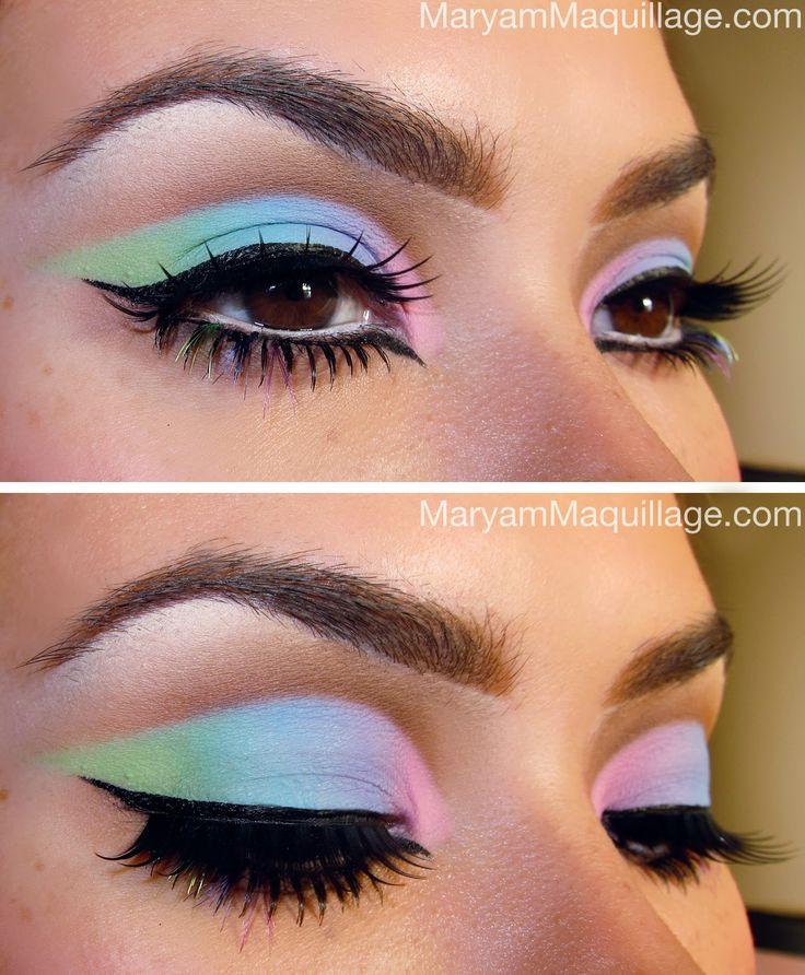 Cut-Crease Pastel Rainbows!