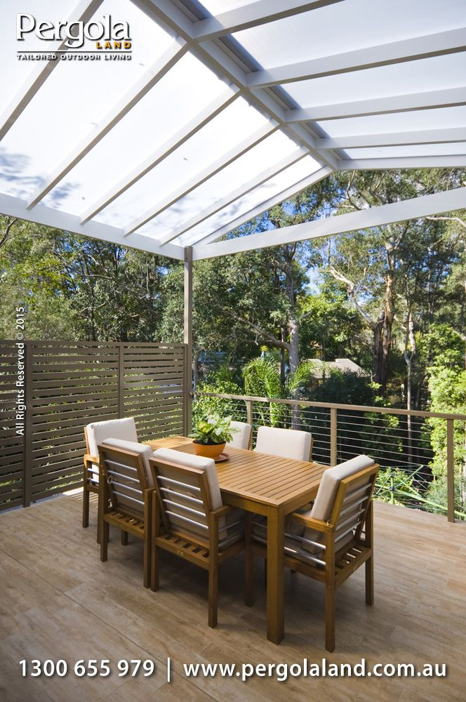 Verandahs and patio covers expand your living space letting you use your biggest room... the outdoors.