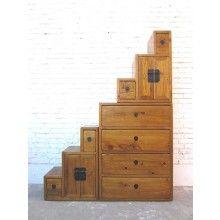Antike Massivholz Schranke Und Highboards Aus China Indien Tibet Holz Grosse Treppe Naturholz