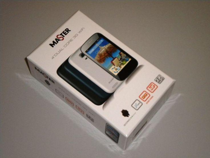 MASTER Smartphone 402S DUAL SIM - PERFETTO COME IDEA REGALO