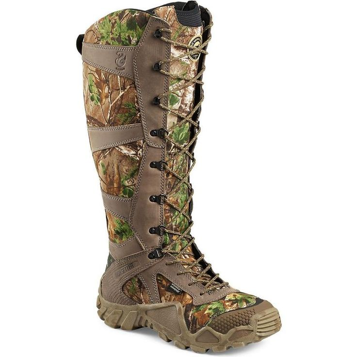 Irish Setter Men's 17in. UltraDry RealTree Camo Snake Boots 2875