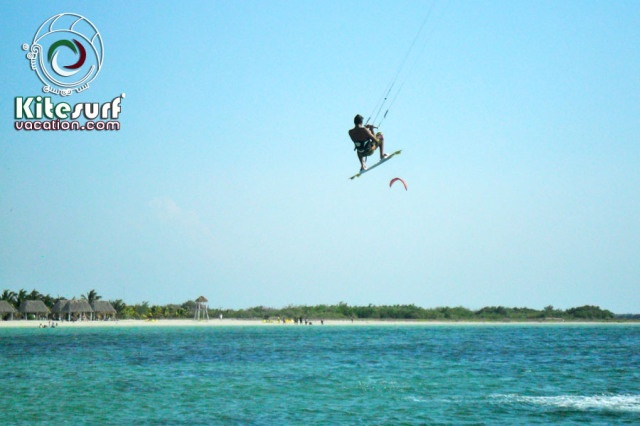 Flying in San Felipe, one of our incredible kiteboarding and kitesurfing beaches in Yucatan, Mexico http://kitesurfvacation.com/?page_id=3525=en