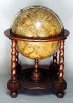 Celestial floor globe, Willem Blaeu,c. 1650 - National Maritime Museum