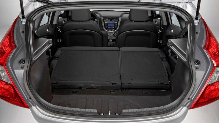 Hyundai Accent...CARGO SPACE