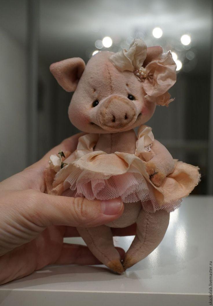 Piglet – купить или заказать в интернет-магазине на Ярмарке Мастеров | Милая, трогательная и удивительно ручная…