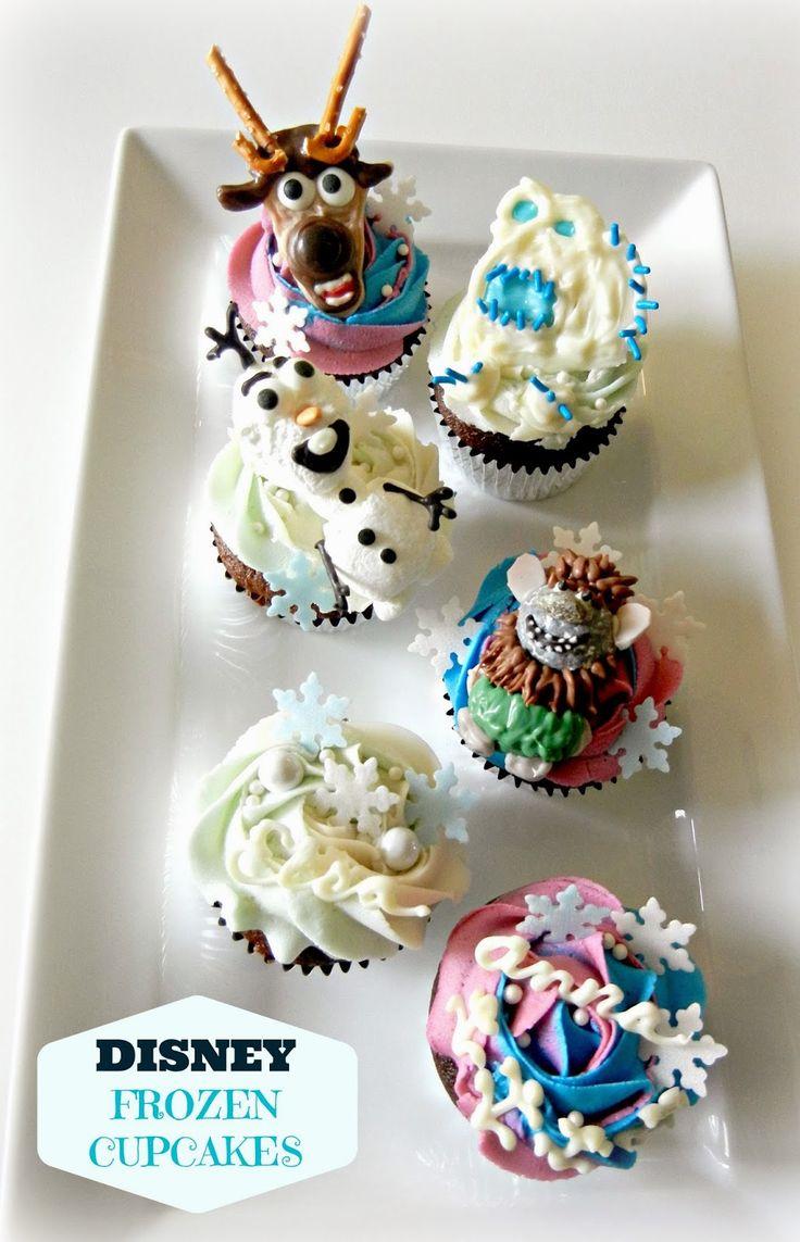 Sugar Swings! Serve Some: Disney Frozen Movie Cupcakes