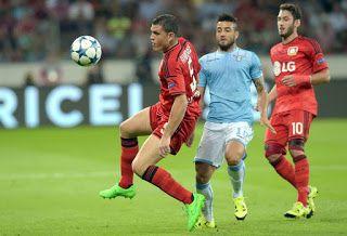 Blog Esportivo do Suíço:  Jogos de volta do playoff da Liga dos Campeões: Bayer Leverkusen atropela Lazio e vai à fase de grupos