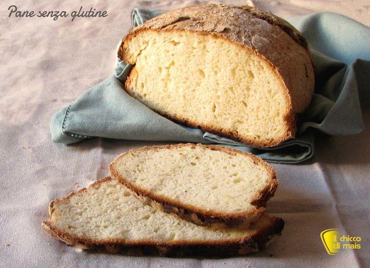 Pane senza glutine con crosta croccante. Ricetta passo passo per un pane senza glutine alto e ben lievitato con crosta croccante e scura e mollica alveolata