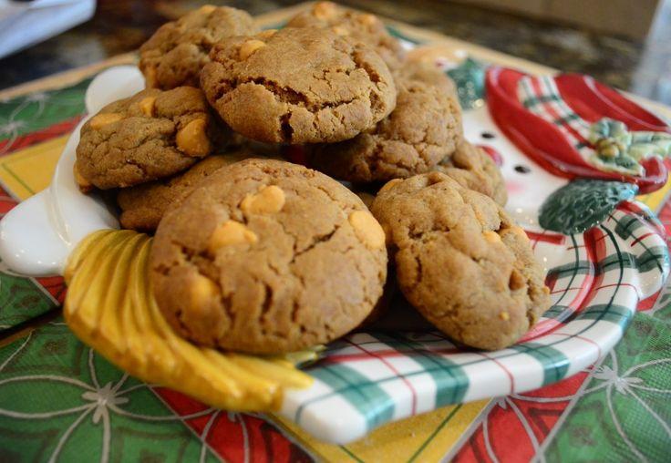 Butterscotch Gingerbread Cookies ~ http://www.fromvalerieskitchen.com
