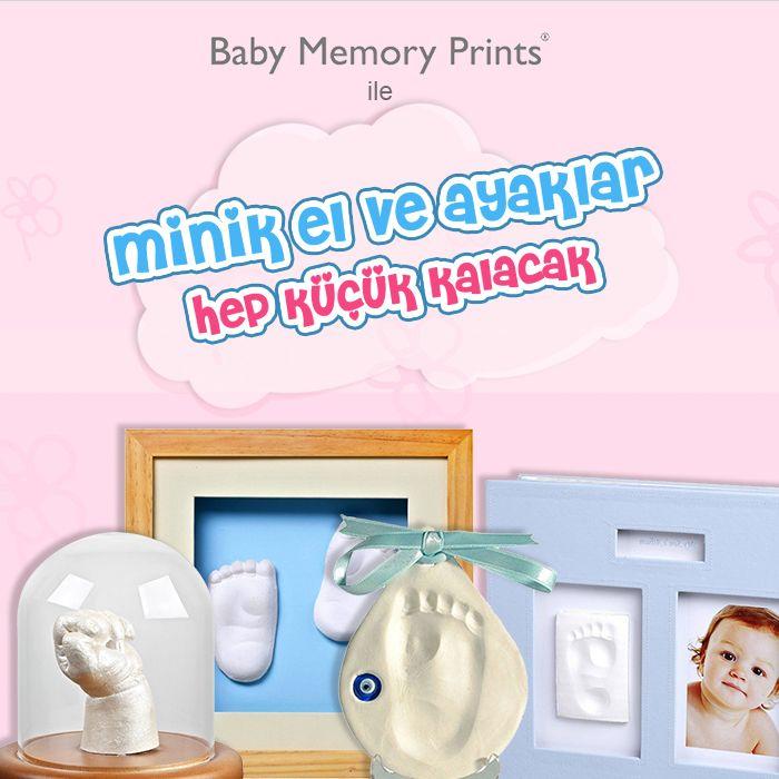 Bebeğinizin minik el ve ayak izleri muhteşem hatıralara dönüşüyor! <3 Baby Memory Prints ürünlerini indirimlerle satın almak için resme tıklayın. #annebebek #anneler #bebekler #babymemory #babymemoryprints