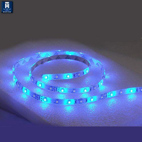 T-H Marine LED-51947-DP LED Flex Strip Rope Light, 12″ – Blue. |  http://ledlightingdistribution.com