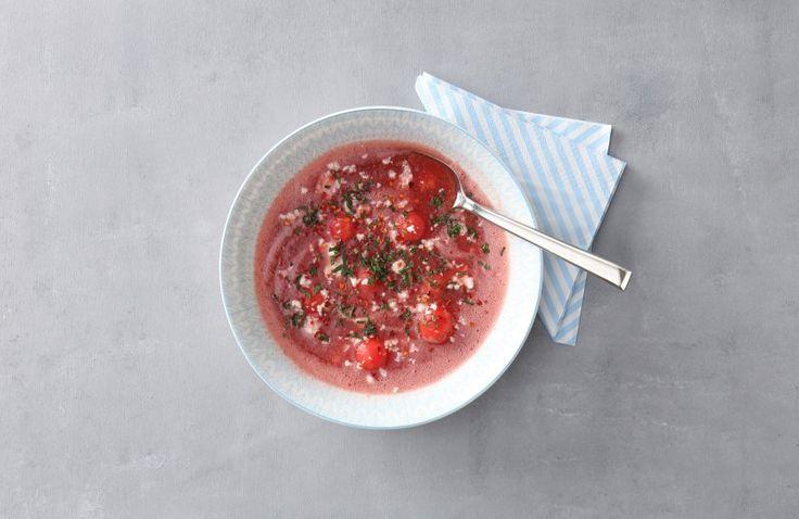 Soep van watermeloen