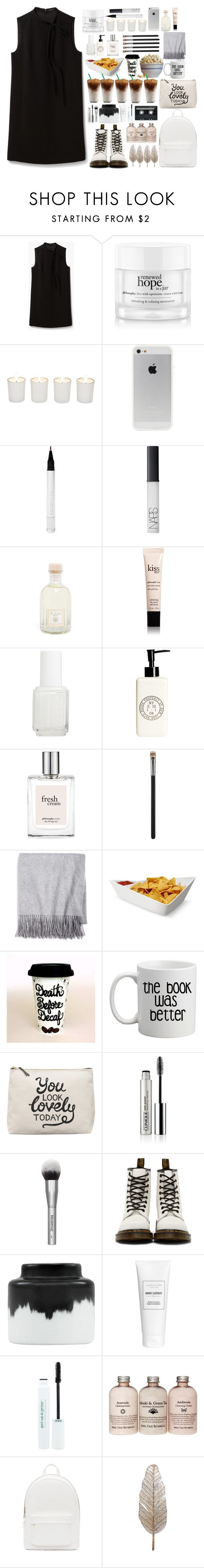 """.......********"" by ellie-xxix-799 ❤ liked on Polyvore featuring Theory, philosophy, Witchery, Ellis Faas, NARS Cosmetics, Dr. Vranjes, Essie, H&M, MAC Cosmetics and Sofia Cashmere"