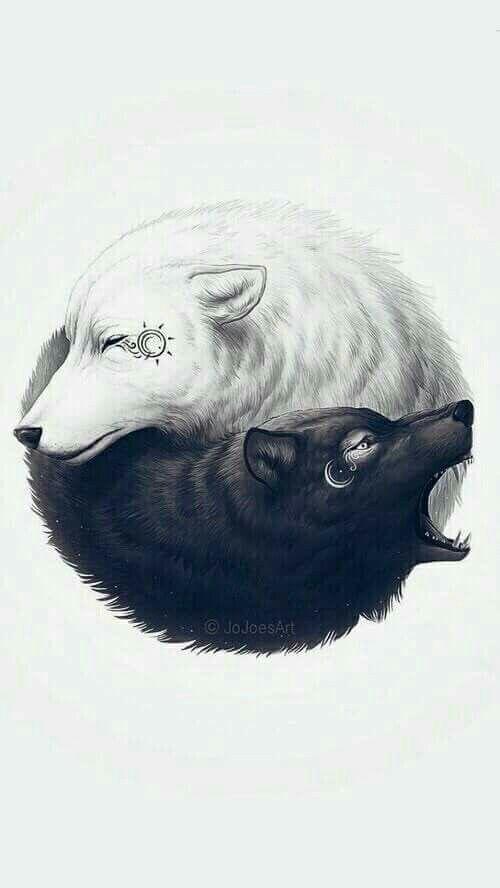 Yin yang wolf                                                                                                                                                                                 Más