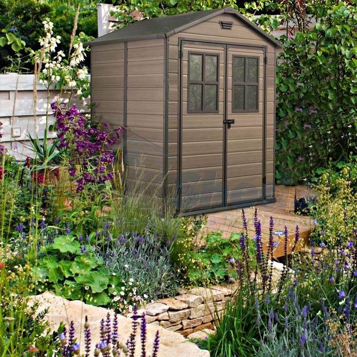 the scala 6x5 is a medium size resin shed and manufactured to endure heavy weather conditions