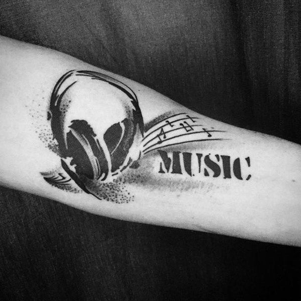 10+ Ideas About Music Tattoo Designs On Pinterest