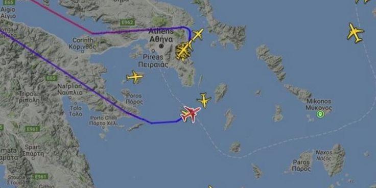 Τρόμος στον αέρα για 221 επιβάτες – Εσπευσμένα στο «Ελ. Βενιζέλος» αεροσκάφος με προορισμό το Νιου Τζέρσεϊ