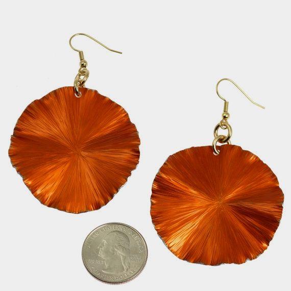 New! Fashion-foward 10 Year Anniversary Gift Large Orange Aluminum Leaf Earrings https://www.etsy.com/listing/464052203/10-year-anniversary-gift-large-orange?ref=rss