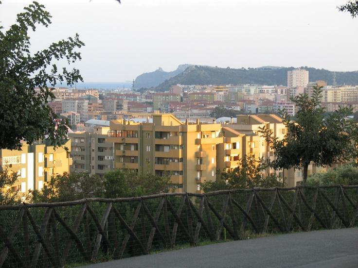 View from Monte San Michele - Cagliari