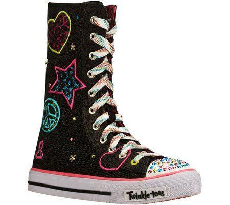 skechers knee high twinkle toes