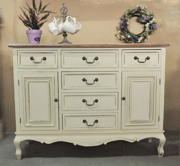Komoda w stylu Shabby Chic / Big Chest with Rustic Collection