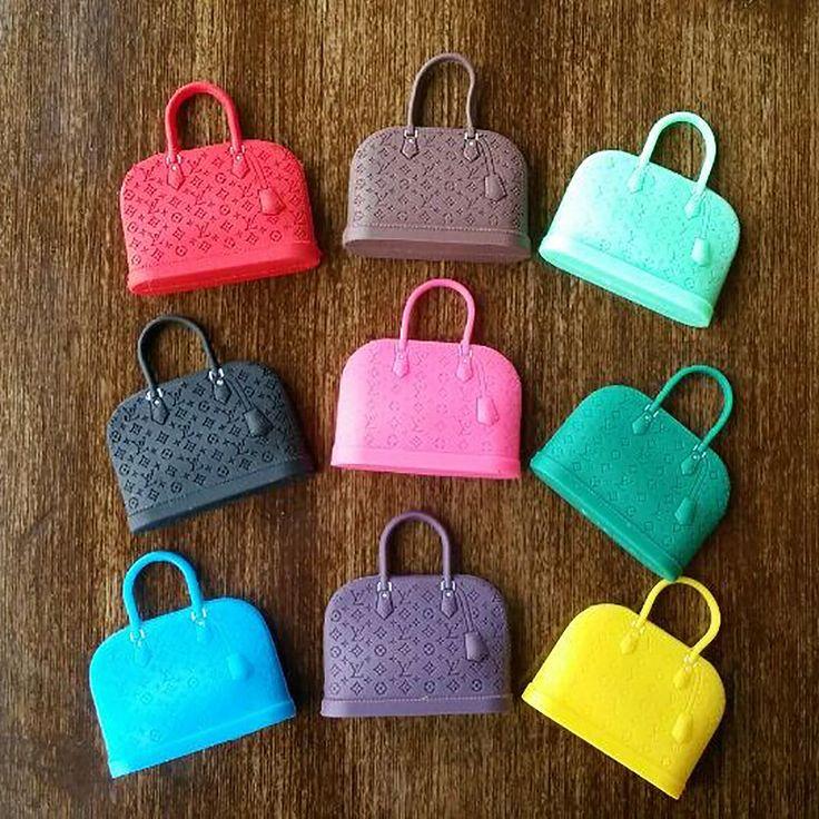 3 pieces random colors plastic handbag outgoing packets dolls accessores for 1/6 BJD SD Blyth Azone Barbi doll accessories