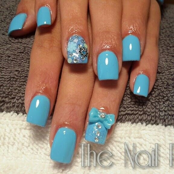 17 Best Images About Frozen Theme Nails On Pinterest