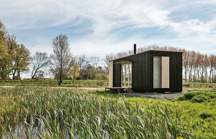 Escape city life in a luxe off-grid cabin that can pop up almost anywhere