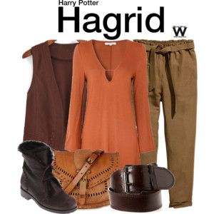 Hagrid Inspired Outfit