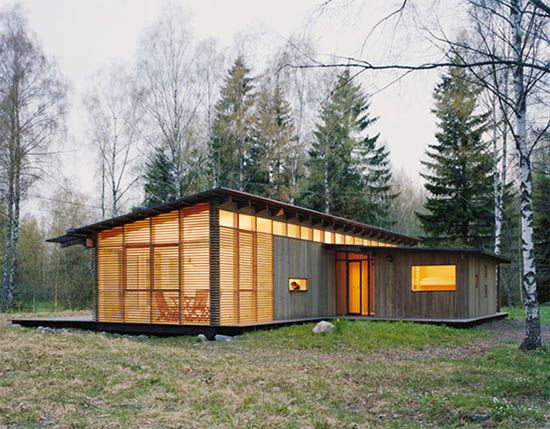 Beautiful Wood Cabin by WRB l Charming House