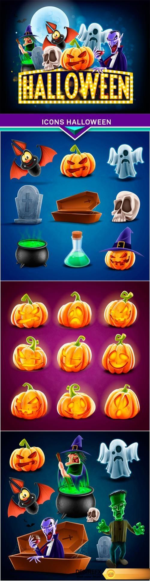 Find your Grapfix Desire With US http://www.desirefx.me/icons-halloween-4x-eps/