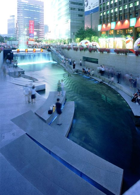ChonGae Canal Restoration Project by Mikyoung Kim Design-02 « Landscape Architecture Works | Landezine