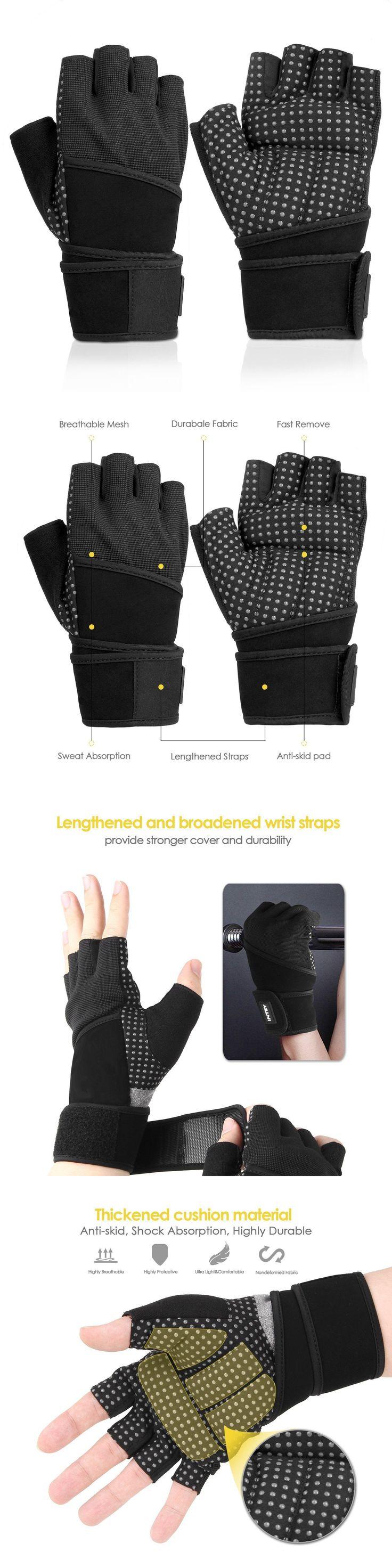 Male gloves ebay - Gloves Straps And Hooks 179820 Intey Weight Lifting Bike Workout Gloves Waist Wraps Anti