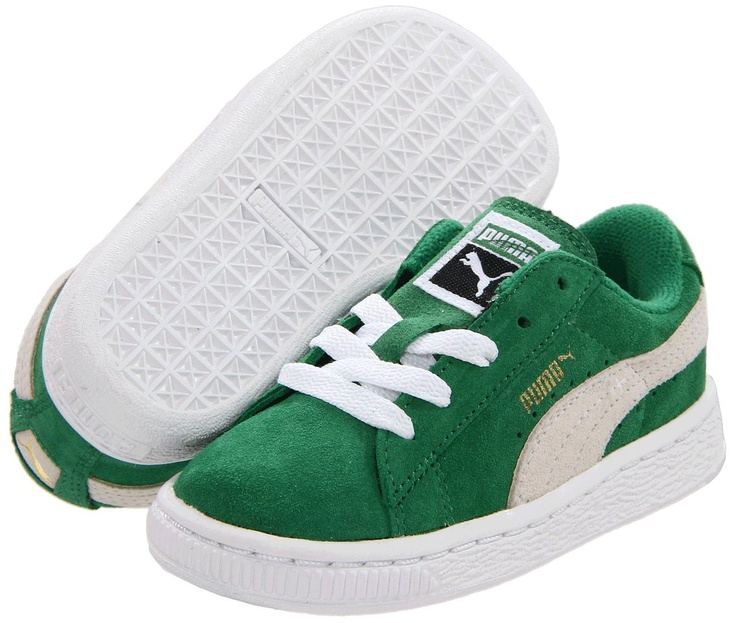 Puma Youth Suede Classic - Amazon/White