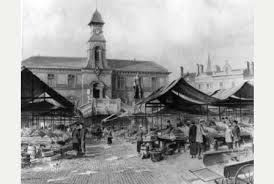 Image result for 1950s leicester market