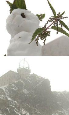"""""""Super tutaj jest"""". W Tatrach spadł śnieg, pomimo że w kalendarzu nadal lato - http://tvnmeteo.tvn24.pl/informacje-pogoda/polska,28/super-tutaj-jest-w-tatrach-spadl-snieg-pomimo-ze-w-kalendarzu-nadal-lato,178201,1,0.html"""