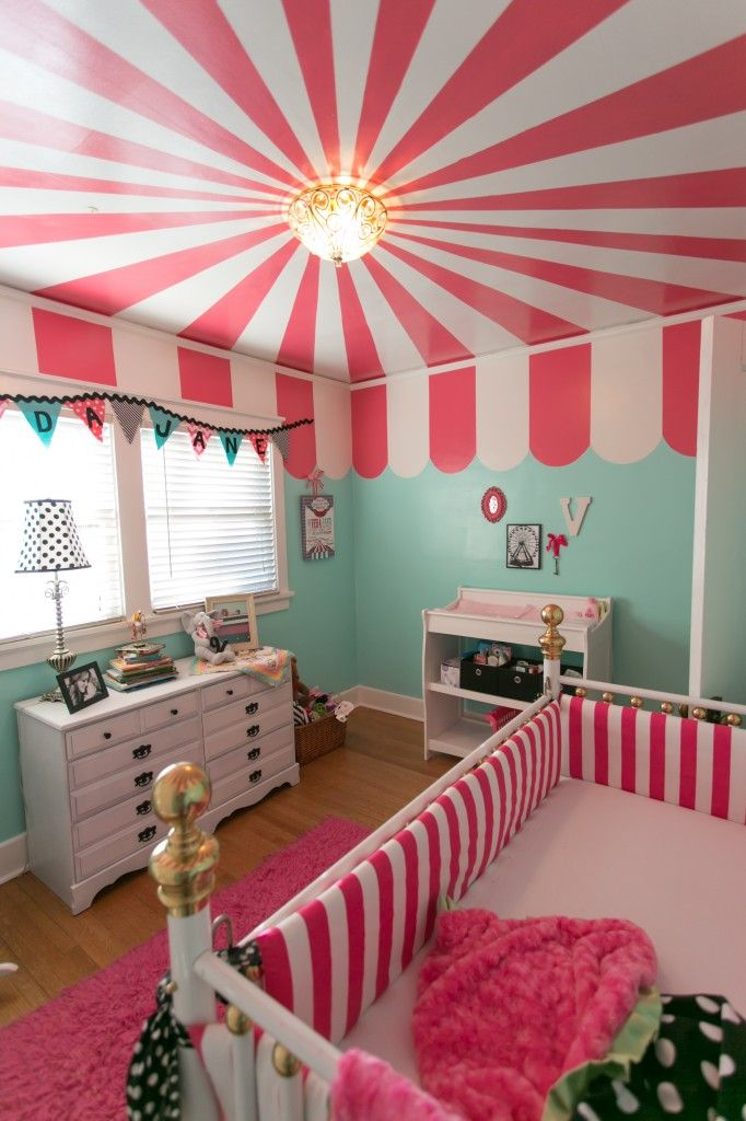 Veda Jane's Carnival Nursery | Project Nursery #EssentialEmbrace @Bravado Designs @Project Nursery | Junior