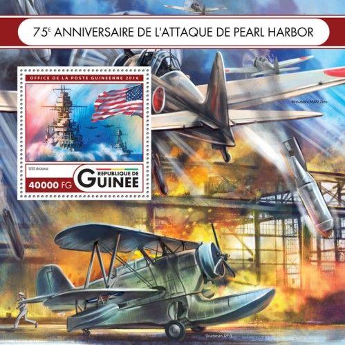 GU16415b 75th anniversary of the attack on Pearl Harbor (USS Arizona)