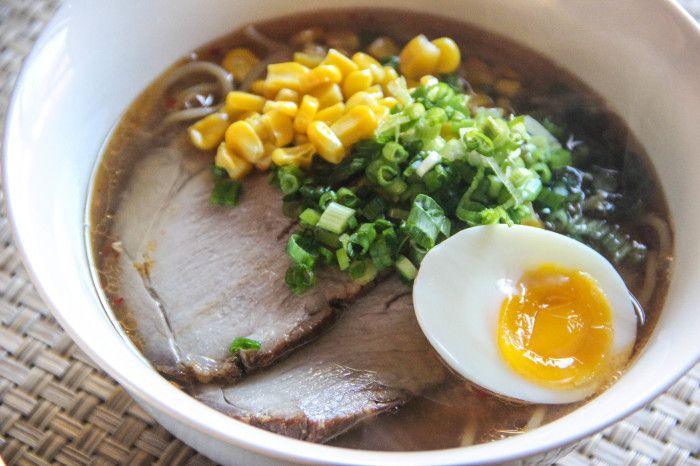 """Miso Ramen is Ramen noodles in a Miso based soup that was created in Japan in the 1960s.  Ramen noodles are originally Chinese style noodles, but it's been changed and improved over the years, and evolved to be our own food.  And Miso Ramen is the pinnacle of  """"Japanese"""" Ramen noodles, the king of all Ramen......."""