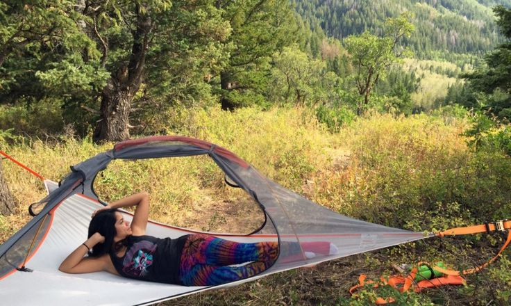 Tentsile pledges to plant three trees for every Flite tent sold as part of their commitment to the protection of the world's forests.