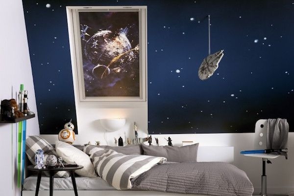 Star Wars & Velux Galactic Night Collection #kinderkamer