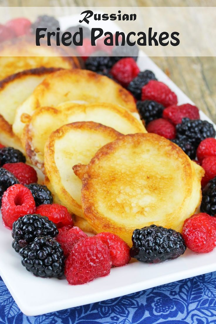 The Stay At Home Chef: Russian Fried Pancakes (Oladi)