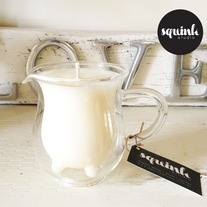 MOO JUG // CHAI    Chai   cinnamon   spice   vanilla    Squink Studio's Limited Edition Triple Scented Soy Wax Candles