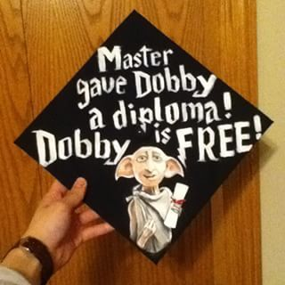 Because: | 27 Ingenious Ways To Decorate Your Graduation Cap