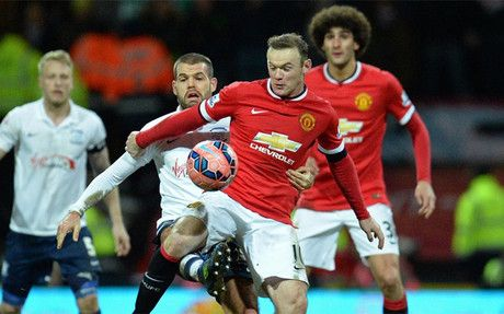 El Manchester United pasó en la FA Cup... con susto +http://brml.co/1Ms4VSv